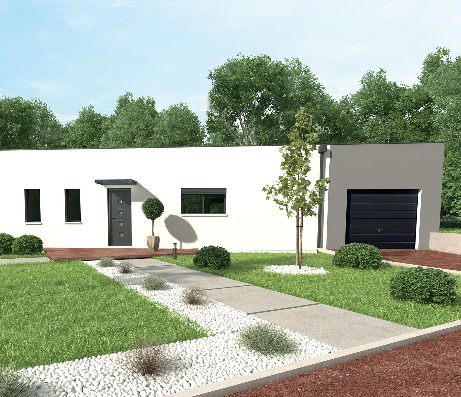 Plan De Maison En Longueur Skiathos