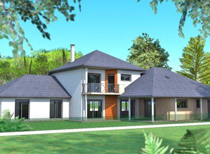 maison contemporaine maison aquitaine avant projet 1