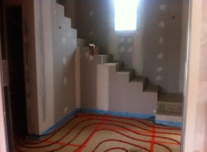 maison contemporaine maison aquitaine escalier
