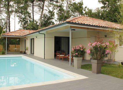 maison de 118 m² avec piscine