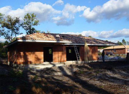 maison de 118 m² couverture