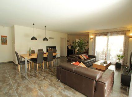 maison de 118 m² avec sejour lumineux