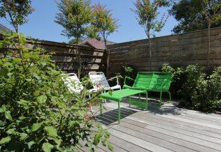 Un espace détente & jardin de ville