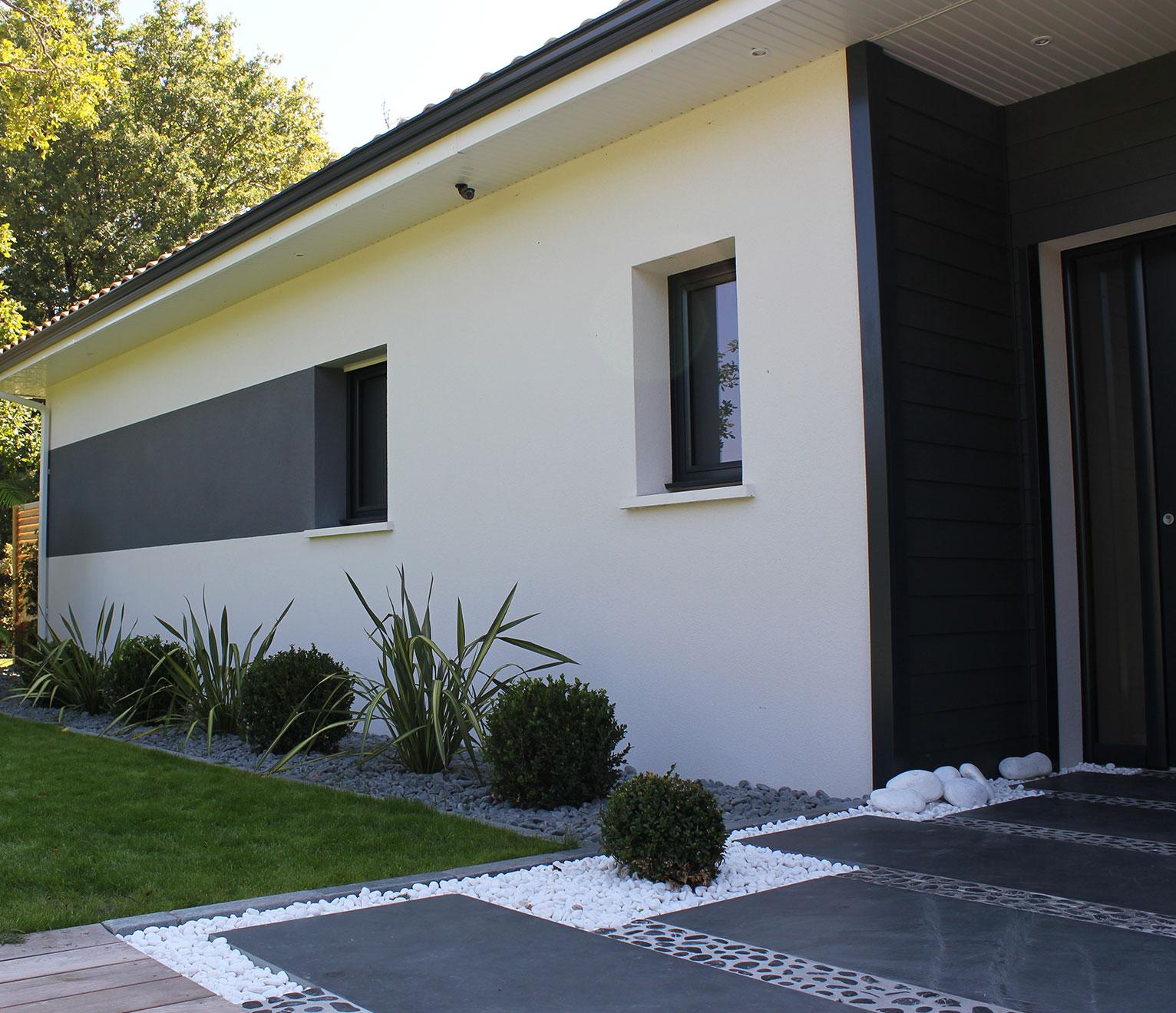 Facades De Maisons En Couleurs personnaliser la façade de sa maison neuve - quel