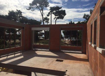 maison igc sur le bassin Arcachon élévation murs