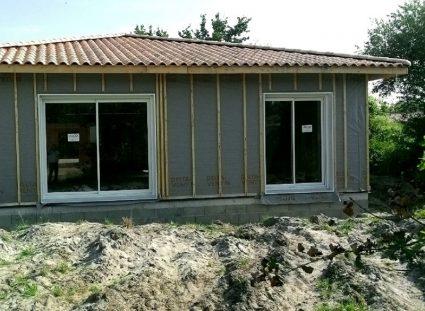 maison ossature bois bassin arcachon menuiseries