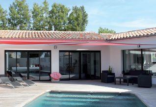 la maison plain pied avec piscine
