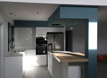 maison spacieuse cuisine moderne