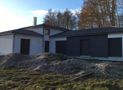 maison spacieuse finitions