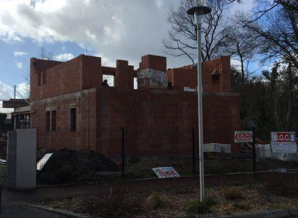 maison toit terrasse élévation murs