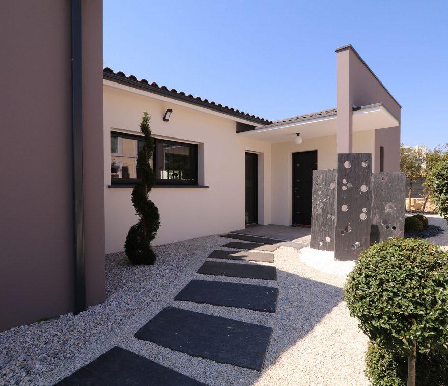 porche d'entrée moderne