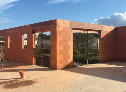 maison contemporaine murs