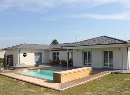 villa personnalisée bordeaux avec piscine