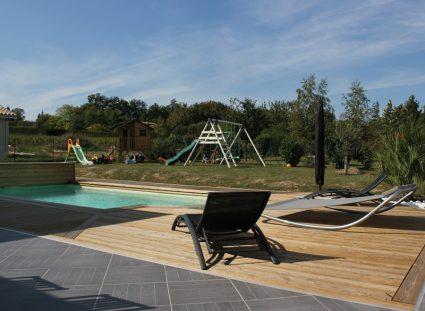 villa personnalisée bordeaux grande terrasse bois