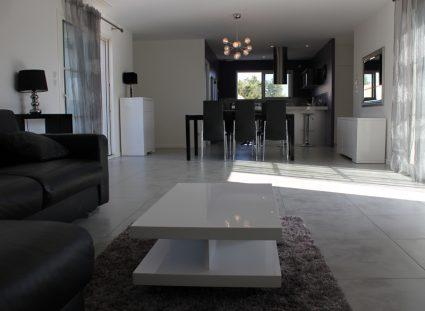 villa personnalisée bordeaux séjour aménage
