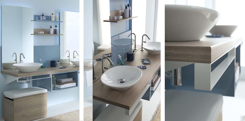 meuble de salle de bain sanijura