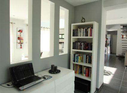 maison neuve personnalisée espace bureau