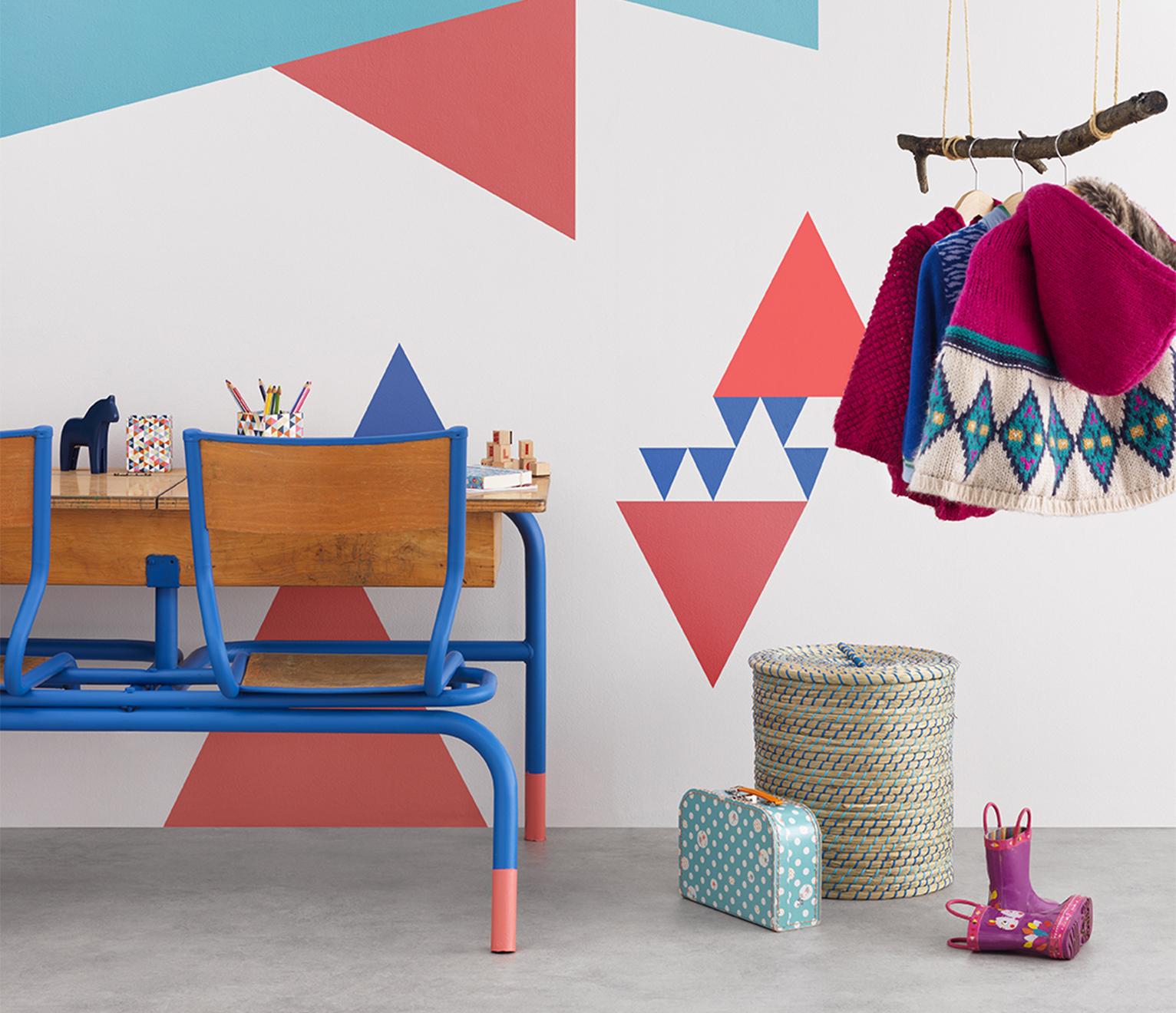 chambre d'enfant décorée