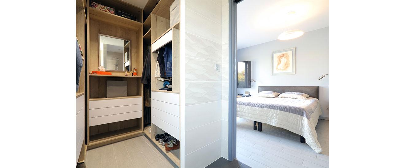 aménagement chambre dans la maison