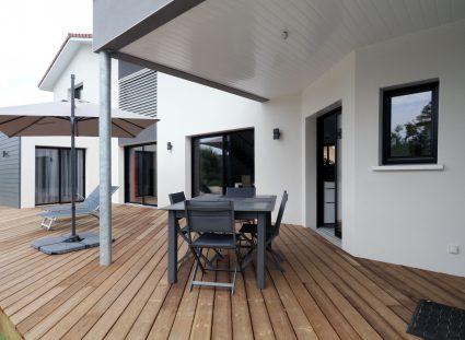 belle maison landaise terrasse en bois