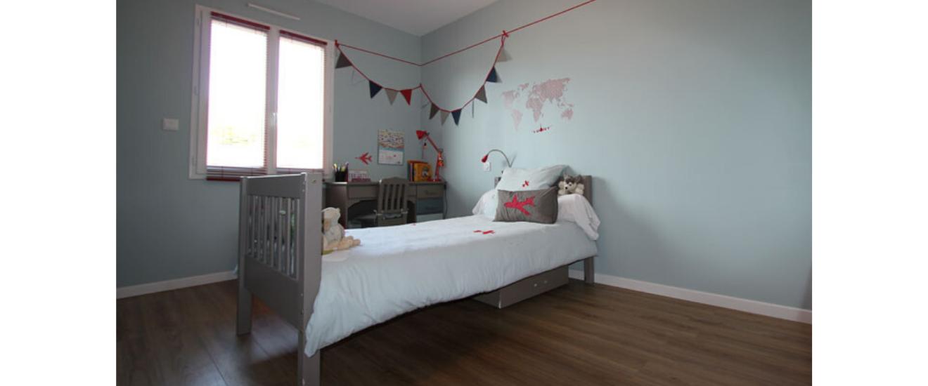 chambre d'enfant décoré