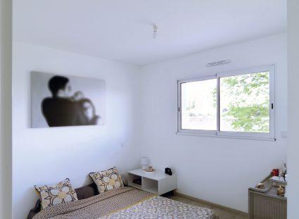 maison contemporaine ecg grande chambre lumineuse