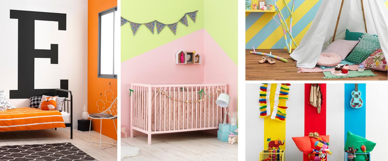 chambres colorees pour enfant