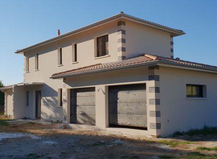 maison arcachonnaise avec garage