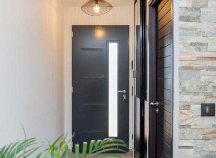 un couloir d'entrée