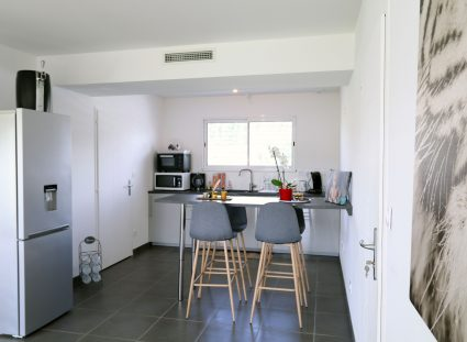 maison contemporaine ecg cuisine lumineuse