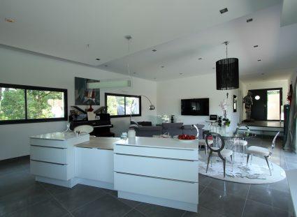 gaia maison contemporaine cuisine moderne