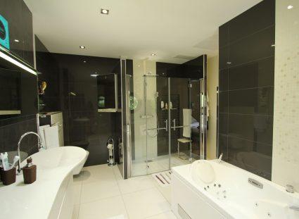 gaia maison contemporaine salle de bain moderne