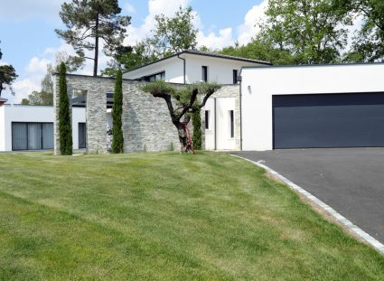 villa contemporaine bordeaux grand jardin
