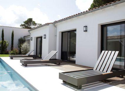 maison avec piscine à la rochelle