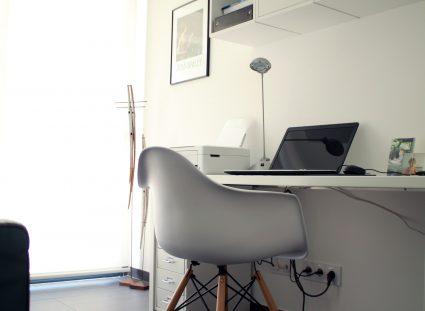 bureau maison contemporaine