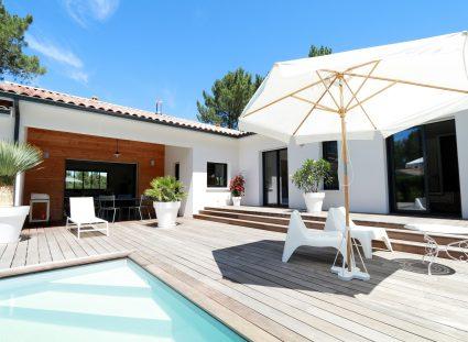 jolie maison terrasse bois