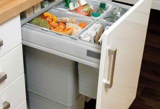 la gestion des déchets en cuisine