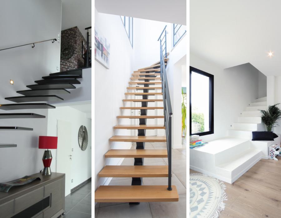 les escaliers design