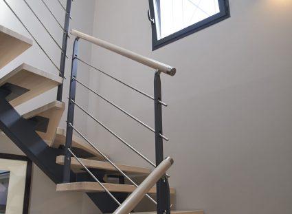 lumière naturelle dans l'escalier 2