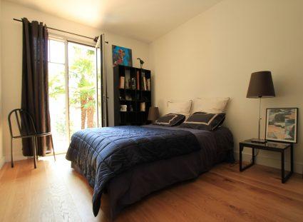 maison Arcachon contemporaine belle chambre