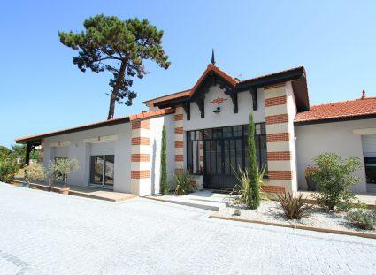 maison Arcachon contemporaine façade-avant