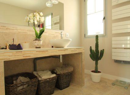 maison arcachon contemporaine salle de bain