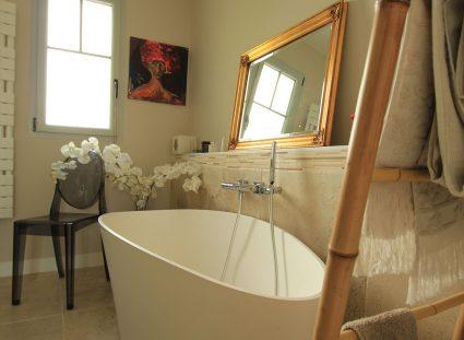 maison Arcachon contemporaine salle de bain design