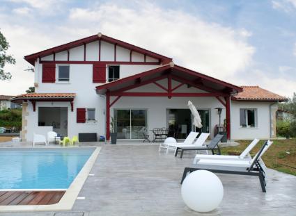 maison basque façade arrière
