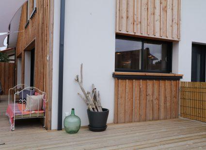 maison contemporaine Arcachon avec terrasse