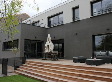 maison contemporaine igc terrasse bois