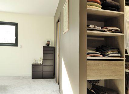 maison contemporaine prestige chambre avec dressing