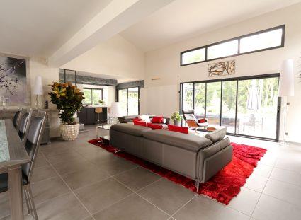 maison contemporaine prestige grand séjour