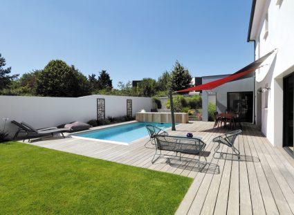 maison contemporaine à la rochelle avec piscine