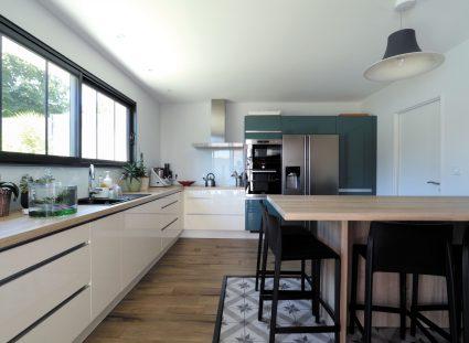maison contemporaine cuisine moderne